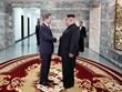 Hình ảnh lãnh đạo Hàn Quốc, Triều Tiên gặp nhau lần thứ 2 liên tiếp