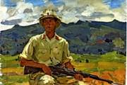 Triển lãm tranh về Việt Nam của Họa sỹ Công huân Liên xô
