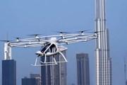 Video cận cảnh thử nghiệm thành công taxi bay tự hành ở UAE