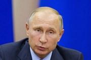 """Ông Putin: Nga có """"các kế hoạch hợp tác lớn"""" với Trung Quốc"""