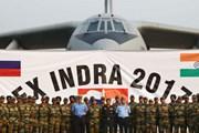 Ấn Độ và Nga bắt đầu tiến hành cuộc tập trận ba binh chủng