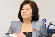 """Nhà ngoại giao Triều Tiên kêu gọi Mỹ có """"lựa chọn đúng đắn"""""""