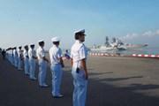 40 tàu chiến duyệt binh ở Thái Lan kỷ niệm ngày thành lập ASEAN