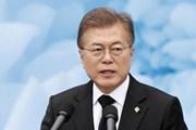 Tổng thống Hàn Quốc bày tỏ hy vọng sớm có chuyến thăm Nhật Bản