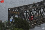 """""""Đóng cửa"""" tạm thời cây cầu hữu nghị nối Trung Quốc và Triều Tiên"""