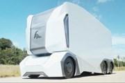 Xe tải tự động T-pod gây ấn tượng manh tại Triển lãm ôtô Detroit