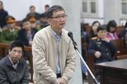 Xét xử Trịnh Xuân Thanh: Các bị cáo xin được hưởng khoan hồng