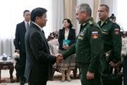 Lào và Nga tăng cường hợp tác trong lĩnh vực quốc phòng