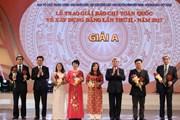 [Photo] Lễ trao giải Báo chí toàn quốc về xây dựng Đảng lần thứ 2