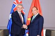 Thủ tướng tiếp Chủ tịch Hội Hữu nghị Australia-Việt Nam