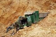 Đình chỉ khai thác đất sau vụ tai nạn làm 1 người chết ở Quốc Oai