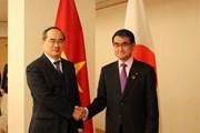 Bí thư Thành ủy TP Hồ Chí Minh thăm và làm việc tại Nhật Bản