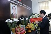 Lãnh đạo Đảng, Nhà nước Lào đến viếng nguyên Thủ tướng Phan Văn Khải