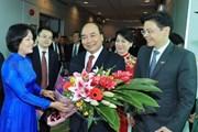 Thủ tướng Nguyễn Xuân Phúc bắt đầu thăm chính thức Singapore