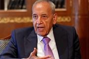 Ông Nabih Berri được tái bầu làm Chủ tịch Quốc hội Liban