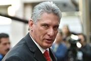 Chủ tịch Cuba đánh giá về sự thụt lùi trong quan hệ với Mỹ