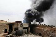Không kích nhằm vào các lực lượng Syria, 12 tay súng thiệt mạng