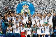 Real Madrid lần thứ ba liên tiếp đăng quang Champions League