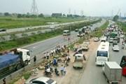 [Video] Hiện trường tai nạn tại cao tốc Hà Nội-Bắc Giang, 2 người chết