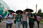 World Cup 2018: Cổ động viên Mexico thích phở Việt Nam