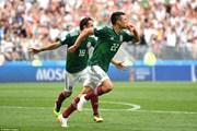 Địa chấn tại Luzhniki: Mexico hạ gục đương kim vô địch Đức