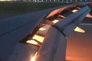 Video máy bay chở đội tuyển Saudi Arabia bốc cháy trên không