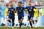 Video cận cảnh chiến thắng sốc của Nhật Bản trước Colombia