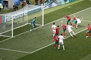 Hình ảnh Bồ Đào Nha loại tuyển Maroc khỏi World Cup 2018
