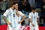 Á quân Argentina thảm bại trước Croatia, cận kề ngày về nước