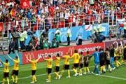 """Cận cảnh tuyển Bỉ đánh bại Tunisia sau """"cơn mưa bàn thắng"""""""