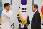Tổng thống Hàn Quốc Moon Jae-in bổ nhiệm tư lệnh Hải quân