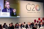 G20 chưa tìm được sự đồng thuận về giải quyết bất đồng thương mại