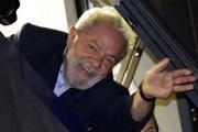 Cựu Tổng thống Brazil Lula da Silva đăng ký tranh cử nhiệm kỳ mới