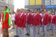 Bộ trưởng Nguyễn Ngọc Thiện thăm Đoàn Thể thao Việt Nam