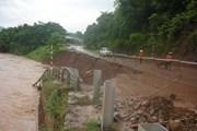 Khắc phục sự cố gây mất điện và sạt lở trên Quốc lộ 6 qua Sơn La