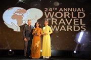 Viettravel được vinh danh Nhà điều hành tour hàng đầu thế giới