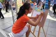Thỏa sức sáng tạo trong cuộc thi vẽ 'Việt Nam trong em'