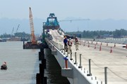 Gấp rút hoàn thành các hạng mục dự án đường ôtô Tân Vũ-Lạch Huyện