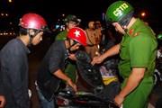 Bắt quả tang 19 thanh niên tụ tập đua xe, gây mất trật tự công cộng