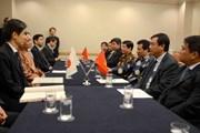 Thống đốc Nhật Bản mặc áo dài quảng bá cho Lễ hội Việt Nam