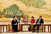 Chính Hiệp Trung Quốc coi trọng quan hệ với MTTQ Việt Nam
