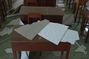 Vĩnh Long: Sập trần ở trường tiểu học, 9 học sinh bị thương
