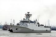 Hai tàu Hải quân Indonesia thăm hữu nghị Thành phố Hồ Chí Minh