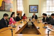 Trưởng Ban Dân vận Trung ương Trương Thị Mai thăm New Zealand