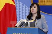 Việt Nam lên tiếng về những diễn biến gần đây tại vùng Catalonia