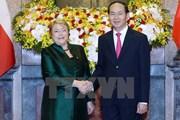 Toàn cảnh chuyến thăm Việt Nam của Tổng thống Chile Michelle Bachelet
