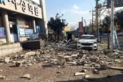Chính phủ Hàn Quốc họp khẩn bàn cách khắc phục hậu quả động đất