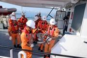 Đưa một thuyền trưởng bị đau nặng trên biển vào đất liền an toàn