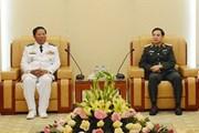 Tăng cường giao lưu, hợp tác giữa hải quân Việt Nam-Campuchia