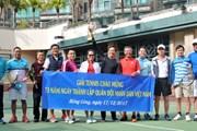 Thi đấu tennis mừng Ngày thành lập Quân đội Nhân dân Việt Nam